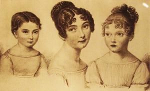 Cristina con Teresa e Virginia